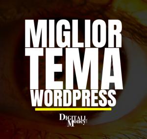 miglior tema wordpress