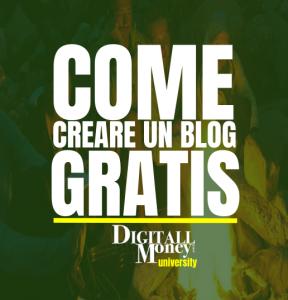 come creare un blog gratis